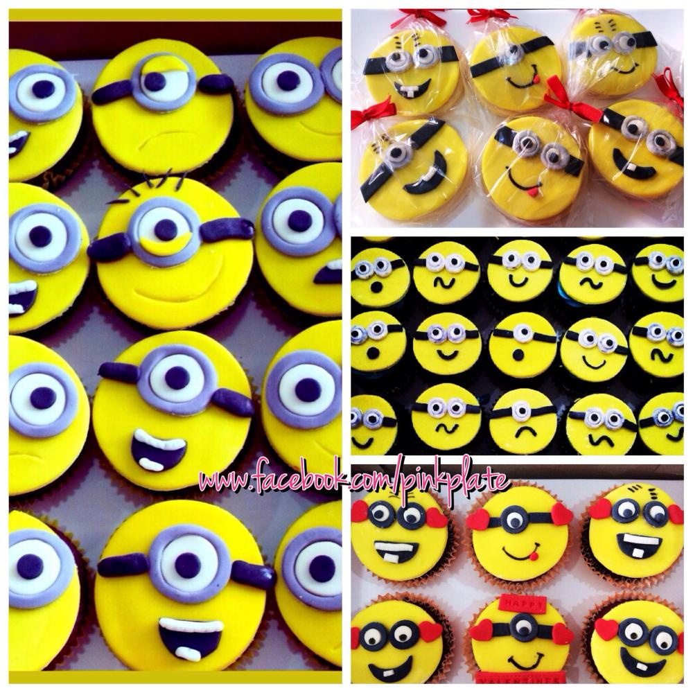Minions cupcakes and cookies