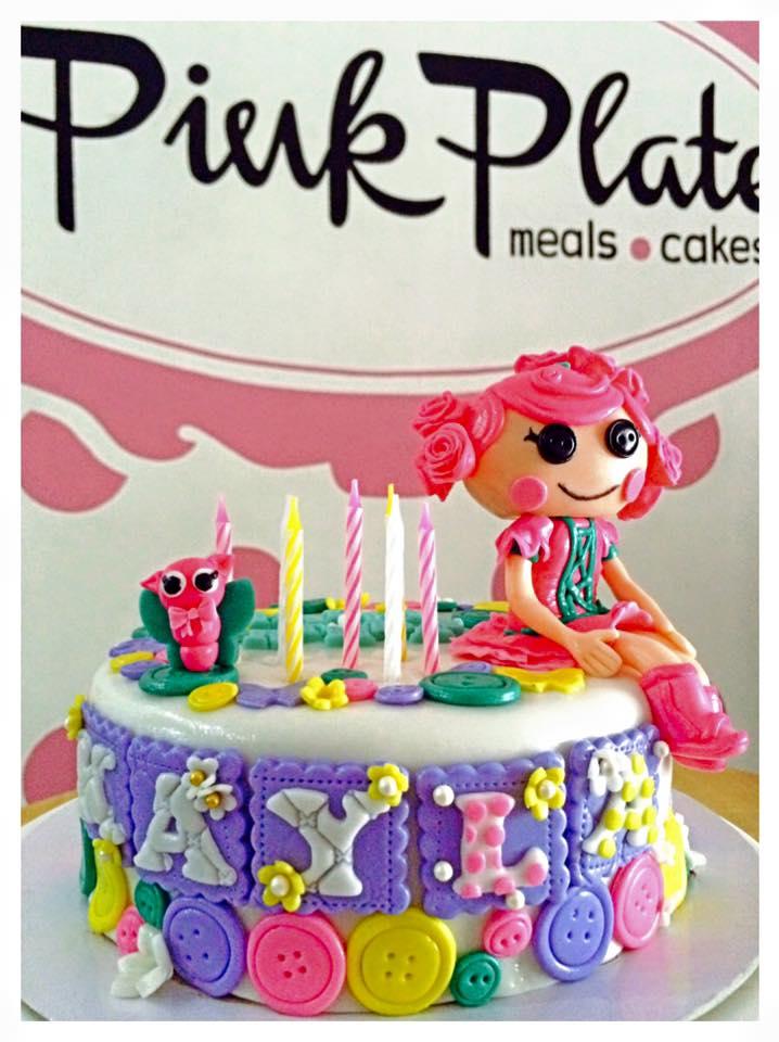 fondant lalaloopsy cake