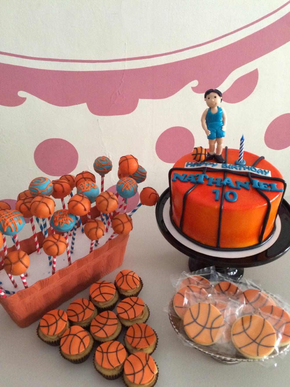 basketball birthday party